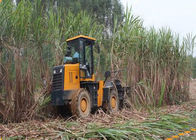Designing According to Pratice 44kw Sugar Cane Harvesting Machine with 4 Wheel Gear Drive