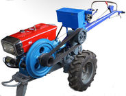 Mini 18HP Hand Walking Agricultural Tractor , Condensing Cooled Diesel Agriculture Machine