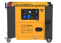 Air Cooled Silent Portable Electric Diesel Generator Single Phase for Home 220V