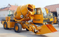 2WD Type Heavy Construction Machinery  ,  1.6 Cubic Meters Concrete Transit Mixer