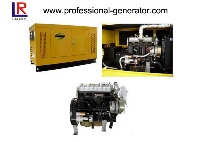 Water Cooling 10kw / 12kva Soundproof Diesel Generator with AC Three Phase Brushless
