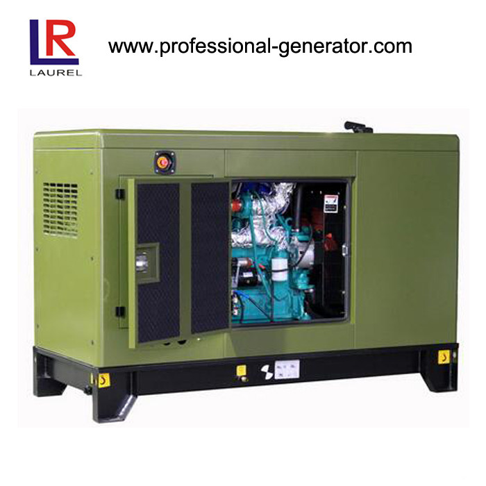 Four Stroke Deutz Engine 120kw / 150kVA Silent Diesel Generator Set with Leroy Somer Alternator