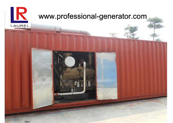 1250kVA / 1000kw Electric Start Diesel Generator Container Genset with Cummins Engine
