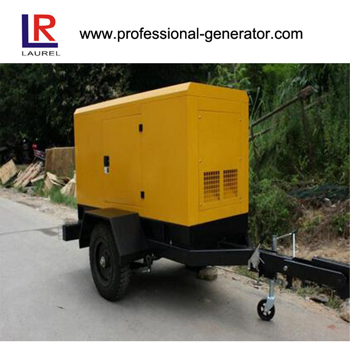1250KVA Electronic Fuel Injection Mobile Diesel Generators CE / ISO9001/ ISO14001