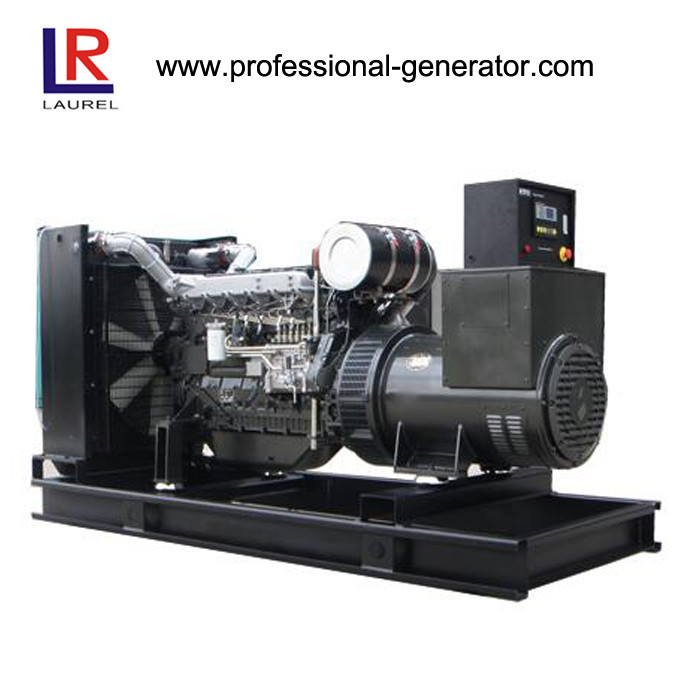 60Hz 320kw / 400kVA Open Diesel Generator with 6 Cylinders Water Cooling