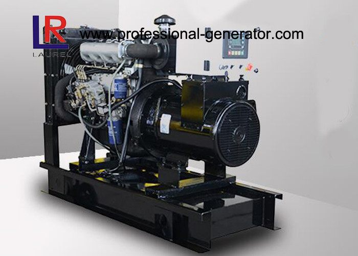 230 / 400V 22KW / 27.5KVA Portable Diesel Generator Set with Electric Speed Regulator