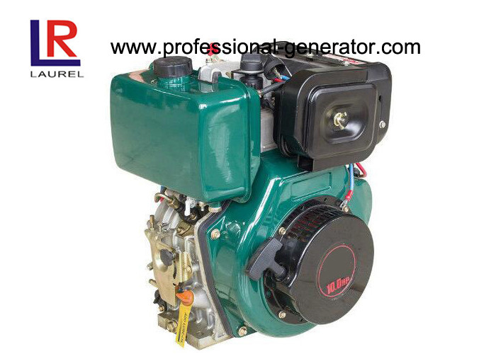 Manual / Electric Start Single Cylinder Industrial Diesel Engines with Low Noise Compact Lightweight