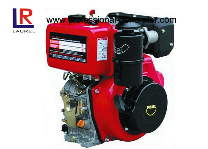4 Stroke 7.5KW 10HP Diesel Engine Manual With Air Cooled Single Cylinder