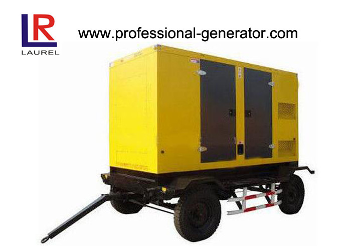 AC Three Phase 100kW Mobile Power Generator with Deutz Diesel Engine 1500RPM
