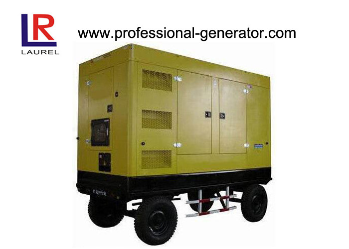 Residential Four Stroke Mobile Power Generator Customised Brushless Copper Winding Wire