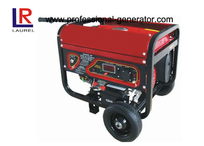 Gasoline Power 2kw Electric Generator with4 Stroke Single Clinder Air - cooled Engine