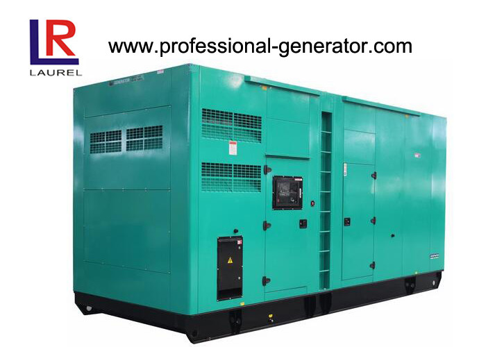 80kw / 100kva Super Silent Diesel Generator Set With Cummins Engine 1100 Kg