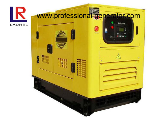 3 Cylinder 15 KVA Super Silent Diesel Generator With Copy Stamford 164C Engine