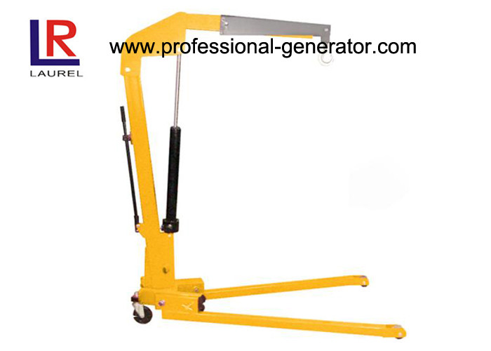 Portable Mobile Warehouse Material Handling Equipment Foldable Small Shopping Lift Crane